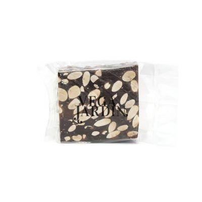 Corte turrón de chocolate puro con almendras 150 g