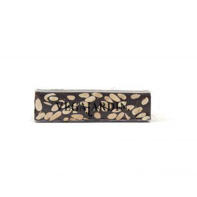 Tablet turrón de chocolate puro con almendras 150 g