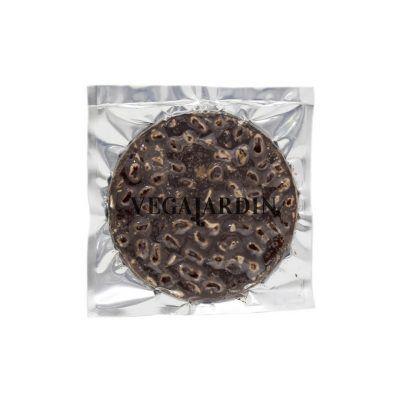 Torta de turrón de chocolate puro con almendras 200 g
