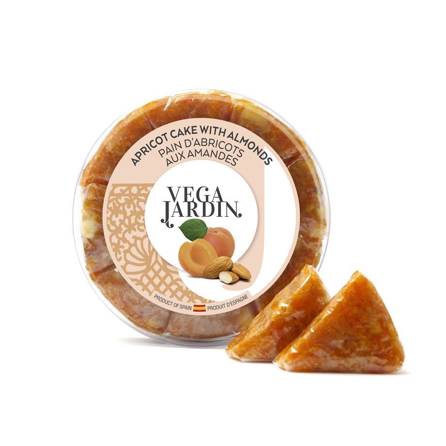 Pan de albaricoque con almendras miniporciones 200 g