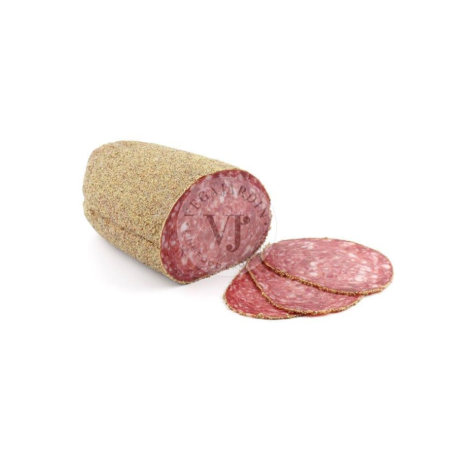 Salchichón extra Gourmand a la pimienta mitades 1,8 kg