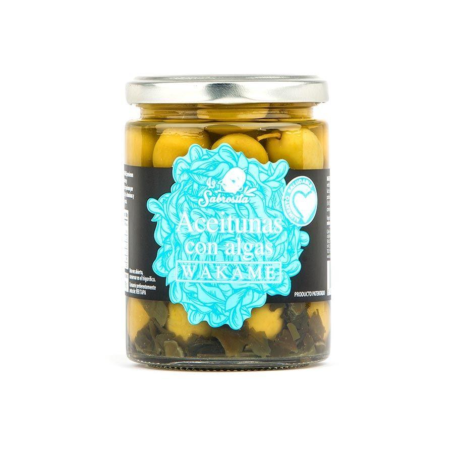 Aceituna Manzanilla con Alga Wakame 190 g
