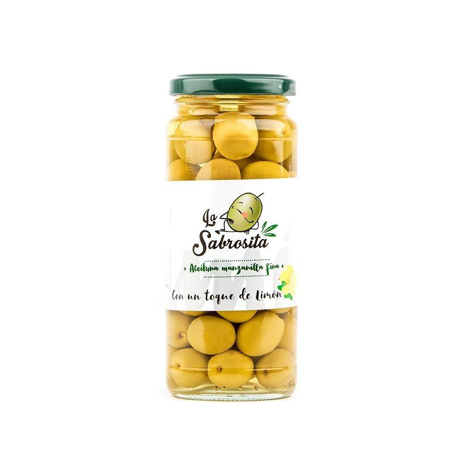 Aceituna Manzanilla Toque a Limón 195 g