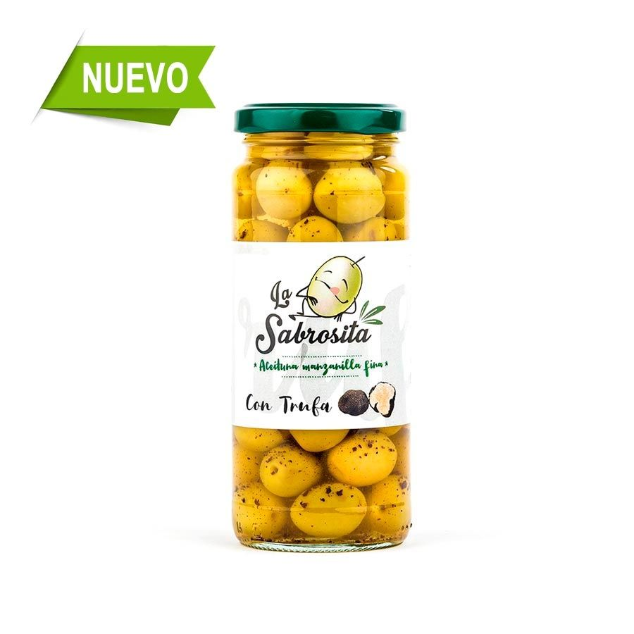 Aceituna Manzanilla con Trufa 190 g