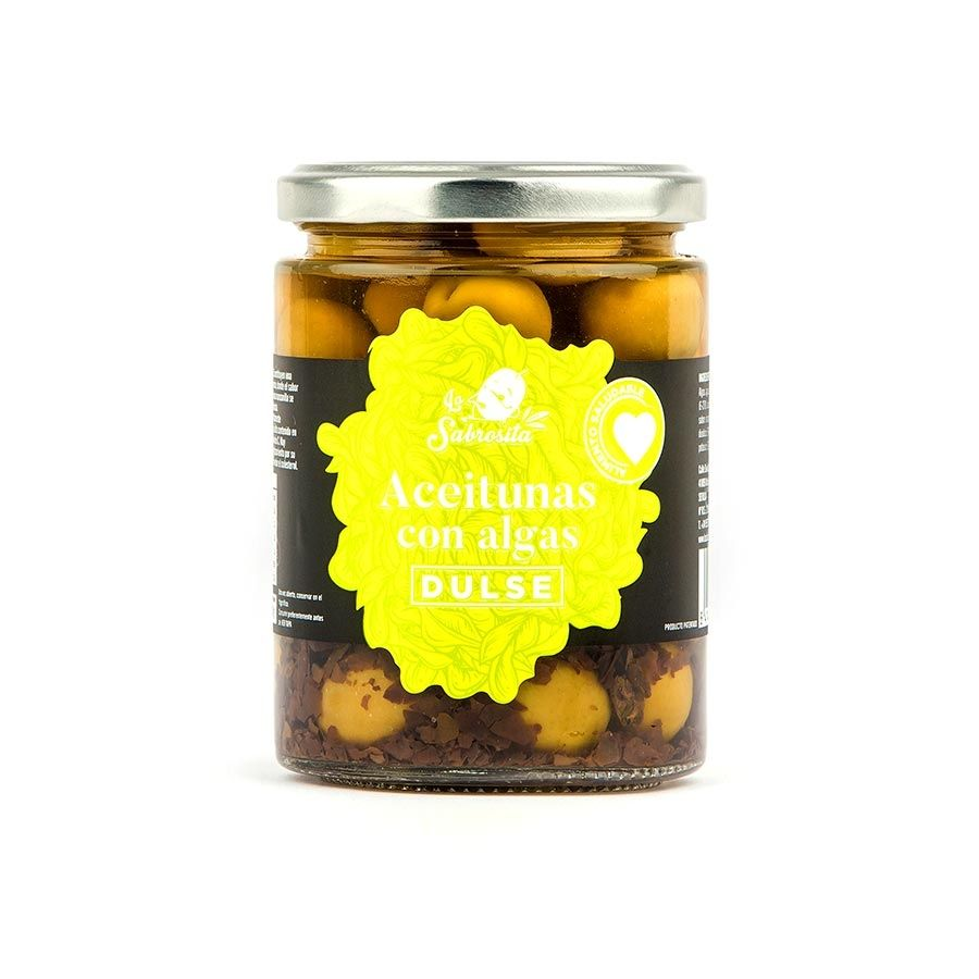 Aceituna Manzanilla con Alga Dulse 190 g