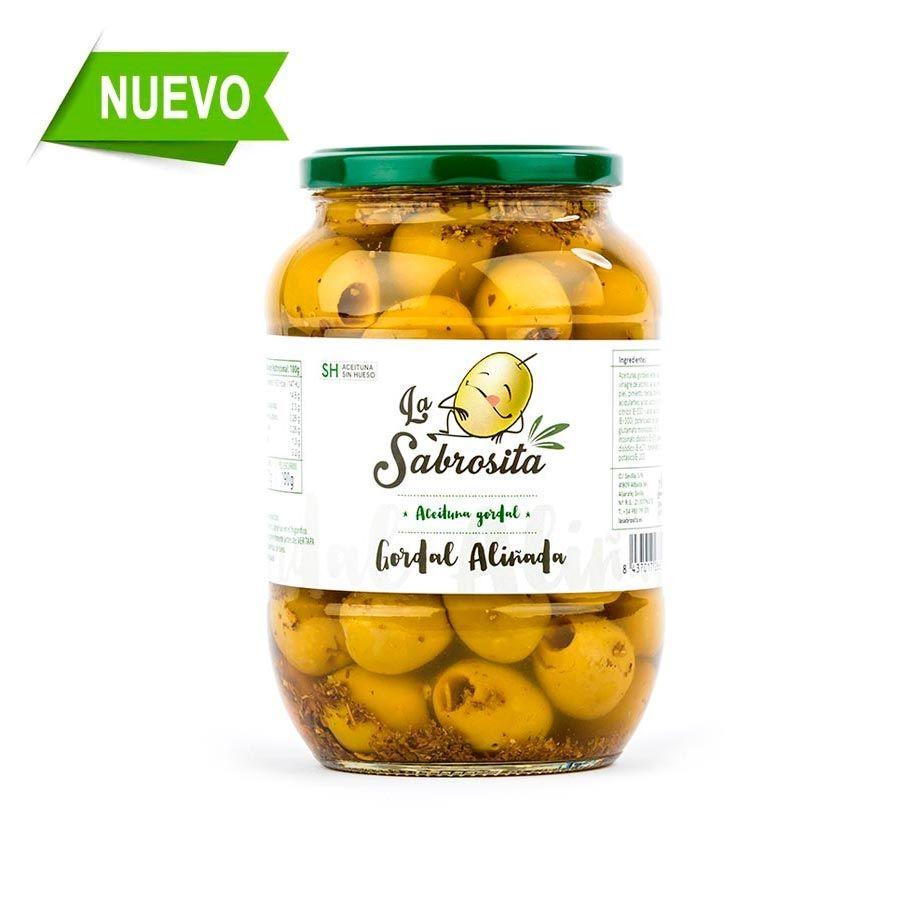 Aceituna Gordal Deshuesada Aliño del Chef 400 g