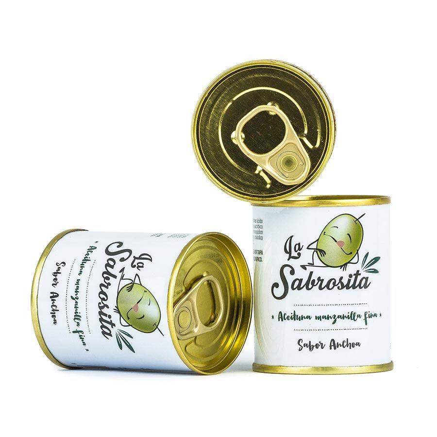 Aceituna Manzanilla Sabor Anchoa 50 g