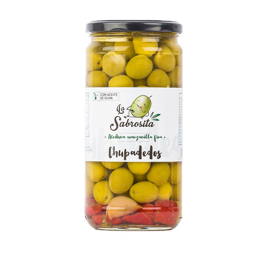 Aceituna Manzanilla Chupadedos 400 g