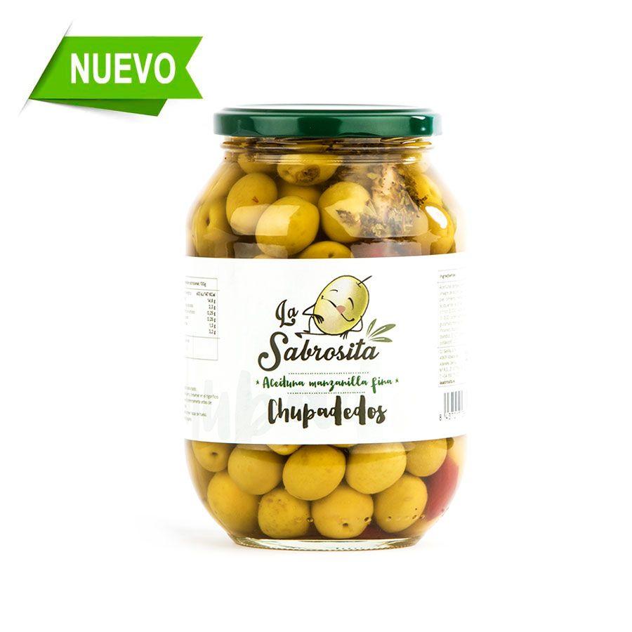Aceituna Manzanilla Chupadedos 500 g