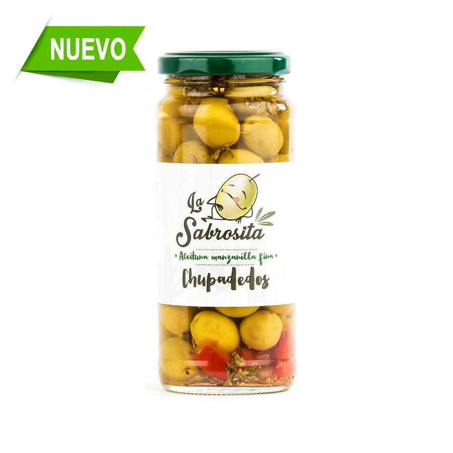 Aceituna Manzanilla Chupadedos 195 g